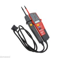 Wholesale Handheld LCD Digital Voltage and Continuity Tester fr RCD Phase Rotation Backlit