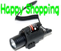 Wholesale Tactical M6 Laser Flashlight CREE LED for airsoft Black