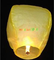 Lanternes libres de ciel de expédition 400pcs, souhaitant le coeur chinois de lanterne de Kongming de ballon de feu de lanterne souhaitant la lampe KMD01