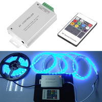 Wholesale Wireless RF Key Remote Controller For RGB LED Strip Light Brand New