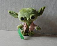 Jouets Star Wars 4 Styles Action Figures 7 pouces jouets Maître Yoda Stromtrooper Dolls enfants expédition Peluche gratuitement