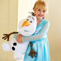 Wholesale 23cm NEW ARRIVELS New Frozen Movie Figure Olaf the Snowman Kid Plush Doll Teddy Toy Gift Lovely Toys G158
