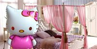 Wholesale Hello kitty ultra big pink helium foil balloons birthday party wedding decorations balloon for kids TOY017