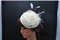 Wholesale 2015 Exquisite Women Linen Top Hat Fashionable Bride Flower Top Hat Royal Top Hat Five Colors Are Optional High Quality