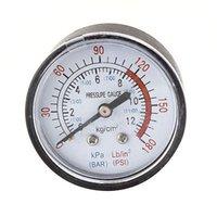 air compressor testing - kgf cm2 PSI Pressure Round Dial Compressor Air Testing Gauge