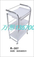 Wholesale Beauty cart three layers of constant temperature of the lacquer that bake universal belting leather drawer beauty tool cart