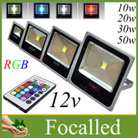 Wholesale Ultra thin Rgb W w w w Led Floodlights Waterproof IP66 LED Light Outdoor Flood Light Wall lamp v AC DC V CE SAA UL