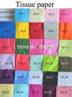 copy paper - 50x70cm sheets colorful single copy tissue paper wine shirt bag shoes wrapping paper gift packing material