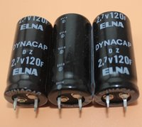 Wholesale Top Quality ELNA Farad Capacitor Super Capacitors V F MM Low ESR