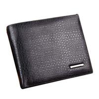 clip handbag - Men money clip New designer handbags high quality purse Wallets carteira feminina Leather wallet retail brand men Wallets
