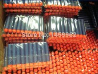wooden ball - 800pcs Nerf N strike Elite Rampage Retaliator Series Blasters Refill Clip Darts electric toy gun soft nerf bullet