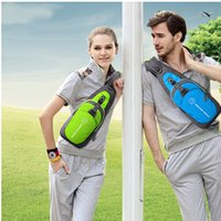 Wholesale 2015 and retail leisure fashion chest package cot ultra thin waterproof nylon outdoor sports bag for men and women
