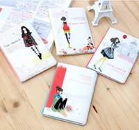 Wholesale 2015 New Fashion Passport Cover Case Travel Card ID Holder Candy Color High Quality PVC Sweet Dream Gir