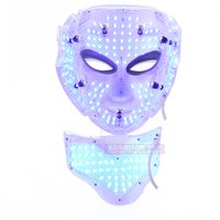 Wholesale LED Light Therapy Skin Rejuvenation Facial Mask Acne Removal Photon Facial Mask With Stand Professional For Salon With BIO Function