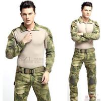 Wholesale Combat Uniform Gen3 shirt pants Military Army Suit with knee pads Multicam
