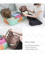 Wholesale Women Girl Travel Cosmetic Makeup Bag Toiletry Wash Storage Case Underwear Bra Bag Bags New