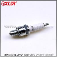 Wholesale Universal spark plug C7HSA Copper Core for cc Dirt Bike Pit bike