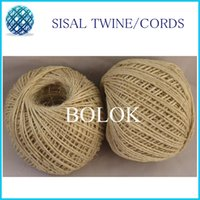 Wholesale 12pcs natural sisal fibre cord rope dia mm ply twisted m ball sisal packing twine by