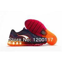2014 zapatos MAX zapatos corrientes hombre caminatas deportivas mujer llegada Zapatos 3.0 Running Shoes Shoes tamaño 5.0 naranja 36-47