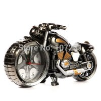 Wholesale New Creative Motorcycle Shape Digital Alarm Clock Stylish Model Home Office Gift