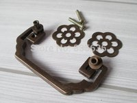 bail pull - 2 quot Drawer Pulls Handles Dresser Pull Bail Antique Bronze Copper Rustic Cabinet Handle Pull