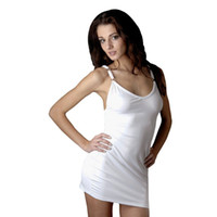 Wholesale Opaque lycra dress with adjustable strap sexy clubwear women beauty tanks camis plus size xxl