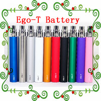 510 battery - In Stock Ego t Battery E Cigs Ego Batteries E Cigarette battery Atomizer Clearomizer Vaporizer mt3 CE4 CE5 CE6 mAh
