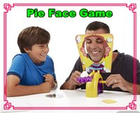 Wholesale Korea Running Man Pie Face Game Parent and Child Games Cream Hit Face Novelty Fun Anti Stress Prank Funny Rocket Toys with retail boxes Free