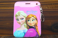 disney wholesale - Disney Frozen FROZEN office document sets student ID card holder keychain backpack