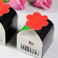 Wholesale Green And Black Wedding Favors Boxes Paper New Fashion Gift Boxes Wedding Decorations