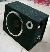 Wholesale Yifa trapezoidal active with amplifier car subwoofer black felt high quality set line