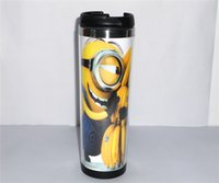 banana cups - New Minion Love Banana Diy Creative Coffee Cup Travel Water Cup Stainless Steel Cup ML CM Gift