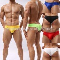 Cotton Mini Boxers Briefs - Men s Sexy Mini Briefs Underwear Comfy Enhance Bulge Pouch Bikini Colors Size M L XL For Choose