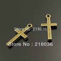 antique crucifix cross - Antique Style Bronze Tone Cross Religion Crucifix Beads Charms Pendants DIY Jewelry Making mm M2201