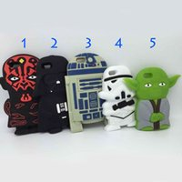cartoon character - Star Wars D Cartoon Phone Case Master Character Figure Yoda Soft Silicone Back Cover Cases For iPhone Plus DHL Free SCA066