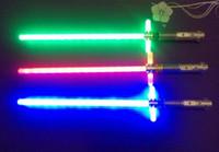 Wholesale The Wolf clan cartoon Star Wars Star Wars storm laser sword The black knight laser sword furnishing articles