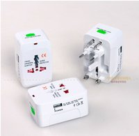 Wholesale Applicable Worlgwide USB Travel Adapter Europe US Standards Adapter power adapter