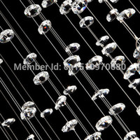 Wholesale 20 Strands K9 Crystal bead curtain for room decoration divider clear crystal bead strands for wedding decoration