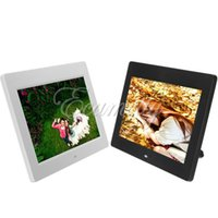 Wholesale CE Certificated inch TFT LCD desktop hd Digital Photo picture Frame MP4 Player Movies mp3 Music Video Alarm Clock colors