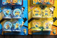 action figure drawing - New Sale sets Cartoon Stamper Despicable me minion action figures Style educational DIY stamp drawing set baby toy study ZJ1003