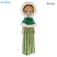 video games for girls - 2016 Frozen New Elsa Anna Winter Plush Dolls CM Princess Dolls Stuffed Toys Holiday Gifts for Girls