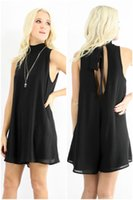 batik dress code - Factory Hollow Polyester Chiffong Straight Type Thin Section XL Code Jumpsuit Black Sexy Dress
