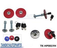 Wholesale TANSKY Universal Mount Bonnet Hood Lock Pins Kit W Keys For Del Sol Civic Aaaord Blue K color Red Black Blue TK HP001YH