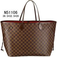 brand handbag - Hot Sell Brand Shoulder bags Totes bags handbag bags women Fashion bags brown N51106