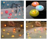 Wholesale Top quality Color Changing Bath Tub Swimming Pool Floating LED Night Light Waterproof Romantic Pond Spa Hot Tub LED Night Light