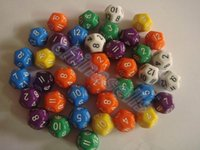 Wholesale new mm creative surface fun board game dice colorful digital dice multi faceted action entertainment dice