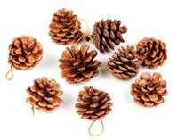 Wholesale Pinecone hanging Christmas gift Tree decorations Christmas Ornament fashion