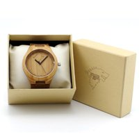 beautiful wolf - W00 WF The Wolf Totem in The Winter Coming Wolf Designer Bamboo Wood Wristwatches Beautiful Luxulry Brand Wooden Bamboo Watches