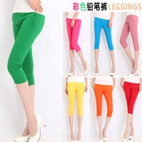 Cheap Palazzo Pants Direct Selling The New 2014 Female Trousers. Fashion Leisure Candy Color 7 Minutes of Pants Pencil Feet Leggings