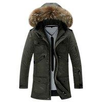 Wholesale Fall Tops Winter New Mens Napapijri Jaqueta Masculina With Raccoon Dog Fur Collar Helly Hansen Duck Down Jackets Pluma Hombre